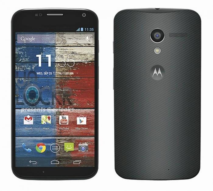 Smartphone Moto X