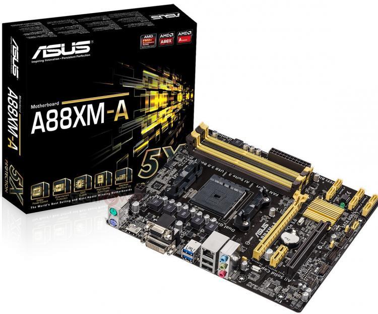 Asus deska s čipsetem A88X pro Kaveri