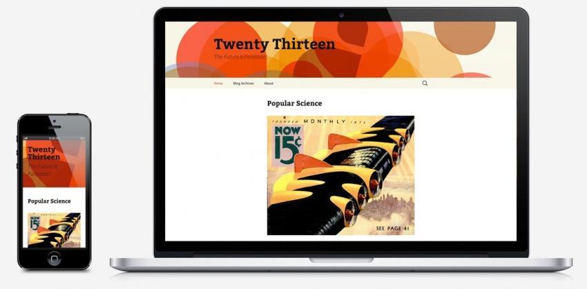 Šablona Twenty Thirteen