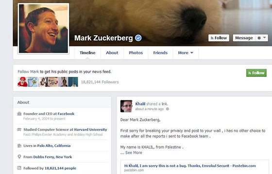 Zuckerbergova zeď